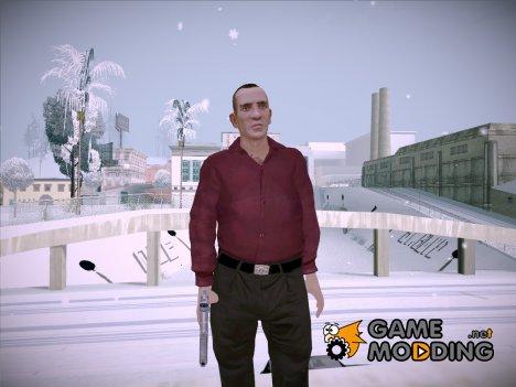 Михаил Фаустин из GTA 4 for GTA San Andreas