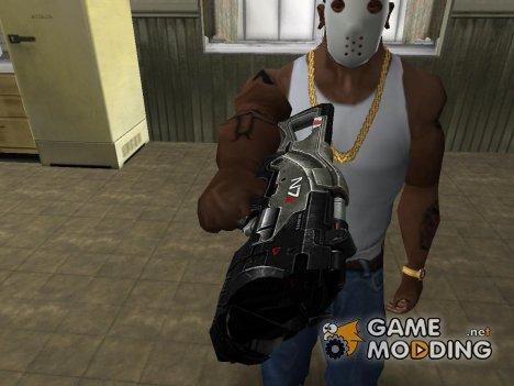 Пак оружия от Wanyear для GTA San Andreas
