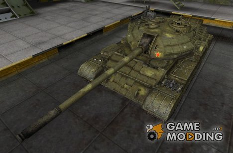 Шкурка для Type 59 (+remodel) для World of Tanks