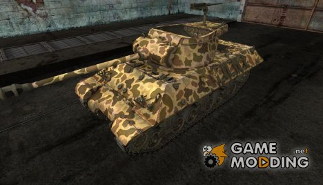 шкурка для M36 Slugger №19 for World of Tanks