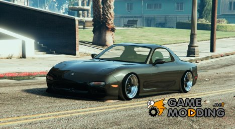 Mazda RX7 FD3S Stanced for GTA 5