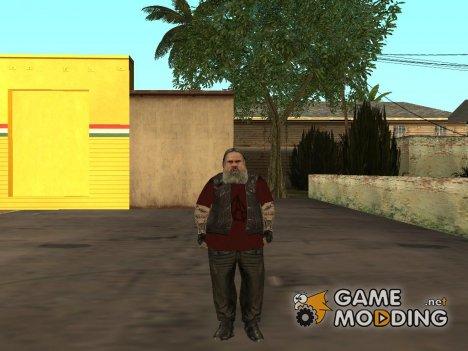 Road Captain biker из GTA 4 for GTA San Andreas