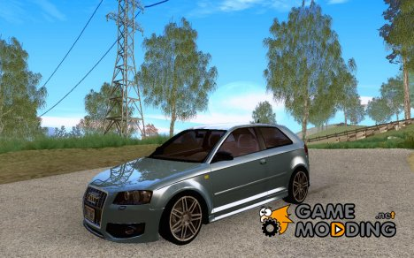 Audi S3 Stock for GTA San Andreas