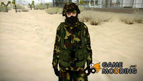 The Expendables 2 Enemy for GTA San Andreas