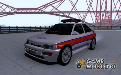 Ford Escort (UK Policecar) for GTA San Andreas