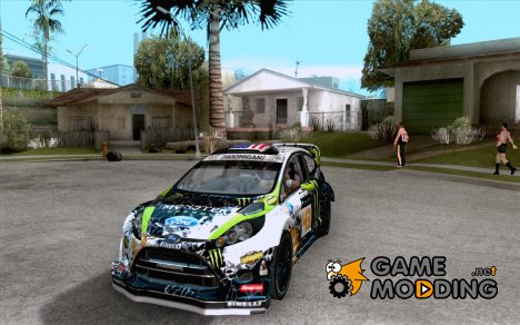 Ken Block Ford Fiesta 2012 for GTA San Andreas