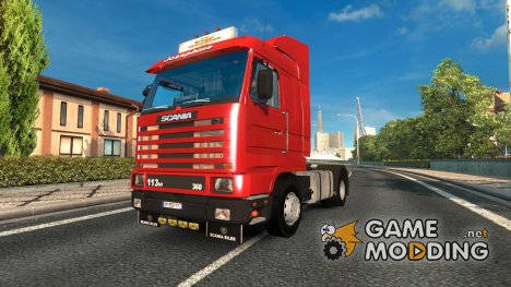 Scania 143M for Euro Truck Simulator 2