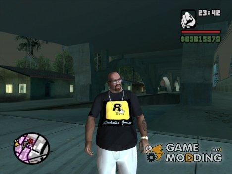 Rockstar футболка для GTA San Andreas