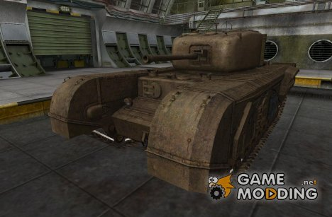 Шкурка для Churchill VII для World of Tanks
