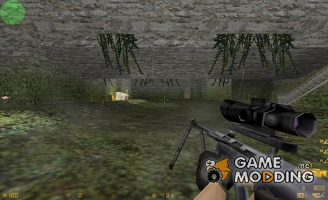 Steyr AUG H-Bar by Xhikku for Counter-Strike 1.6