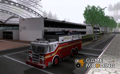 Pumper Firetruck Pierce F.D.N.Y for GTA San Andreas
