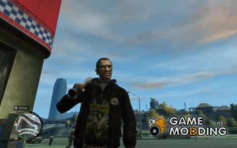 Guns N Roses Leather Jacket для GTA 4
