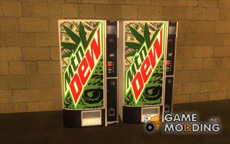 Новые торговые автоматы с Mountain Dew for GTA San Andreas