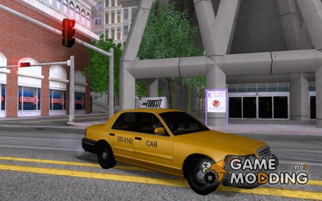 2003 Ford Crown Victoria Taxi cab для GTA San Andreas