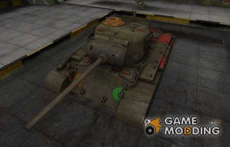 Зона пробития M26 Pershing для World of Tanks