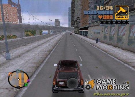 Новое отражение машин for GTA 3