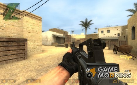 M16A2 New Animations by Soldier11 для Counter-Strike Source