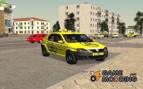 Dacia Logan 2008 Такси для GTA San Andreas