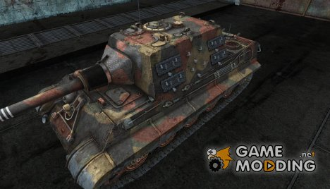 "Шкурка для Jagd Tiger ""Fall"" for World of Tanks"