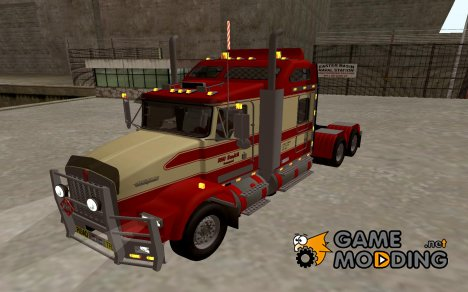 Kenworth Road Train T800 для GTA San Andreas
