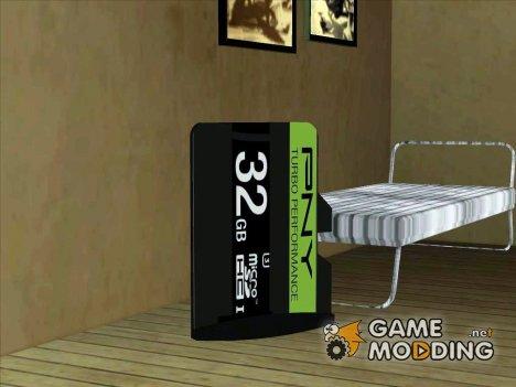 PNY MicroSDHC для GTA San Andreas