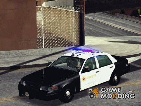 (SASD) Ford Crown Victoria Police Interceptor v1.0 для GTA San Andreas