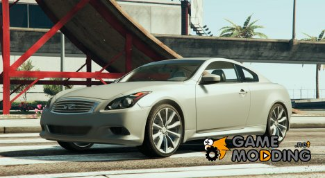 2008 Infiniti G37 Coupe Sport for GTA 5