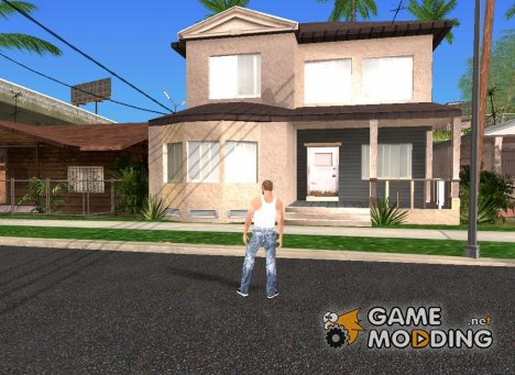 Четыре новых дома на Гроув Стрит для GTA San Andreas