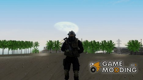 Modern Warfare 2 Soldier 2 для GTA San Andreas