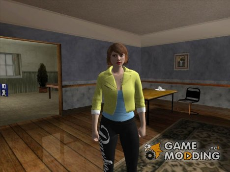 Skin HD GIRL (GTA V) для GTA San Andreas