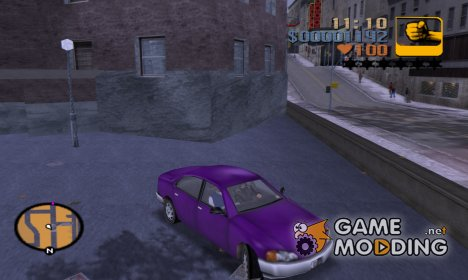 Diversifies the color of transport for GTA 3