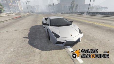 Lamborghini Reventón AUTOVISTA 11.0 for GTA 5