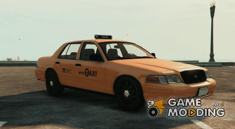 NYC Crown Victoria Taxi for GTA 5