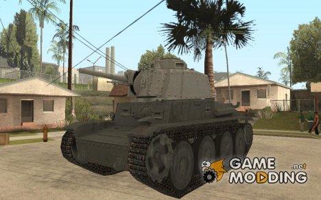 Легкий танк Pzkpfw-38 [t] для GTA:SA для GTA San Andreas
