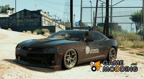 2014 Chevrolet Camaro Z/28 Los Santos Police for GTA 5