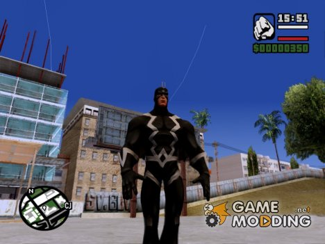 Black Bolt for GTA San Andreas