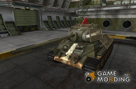 Remodel T-34-85 for World of Tanks
