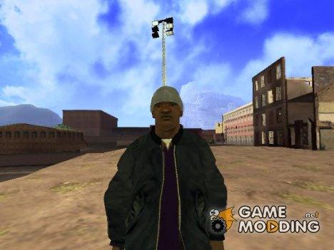 Зимний скин Fam3 для GTA San Andreas