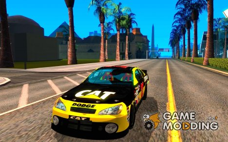 Dodge Nascar Caterpillar для GTA San Andreas