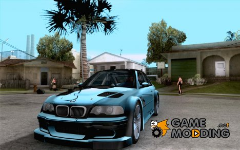 BMW M3 GTR Final for GTA San Andreas