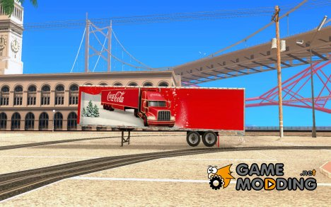 Coca Cola Trailer for GTA San Andreas