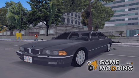 BMW 750IL E38 1998 for GTA 3