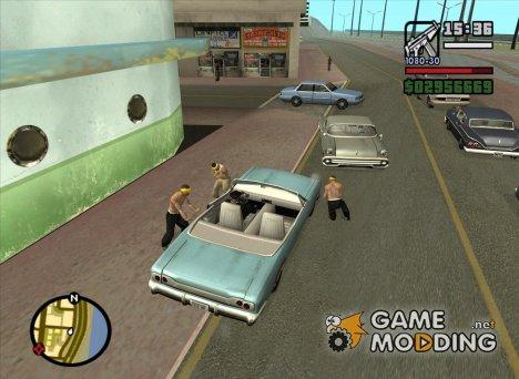 More Hostile Gangs для GTA San Andreas