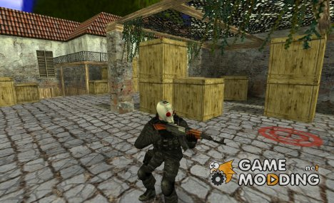 Zombie SAS exterminator (v1.1) для Counter-Strike 1.6