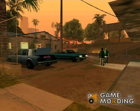 Братки у бара v2 for GTA San Andreas