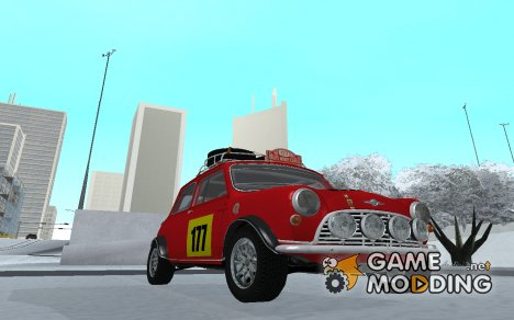 Mini Cooper S Rally for GTA San Andreas