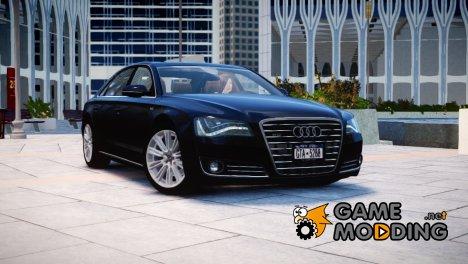 2013 Audi A8L W12 для GTA 4