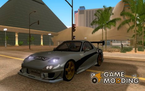 RX7 cWest Tokyo Drift v2.0 for GTA San Andreas