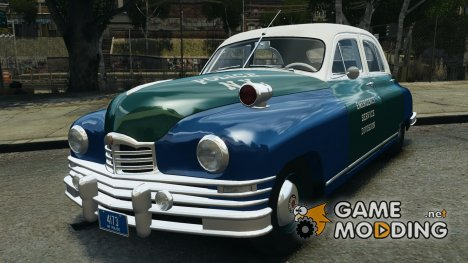 Packard Eight Police 1948 для GTA 4