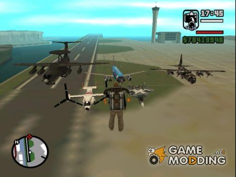 The Ultimate Air Pak для GTA San Andreas